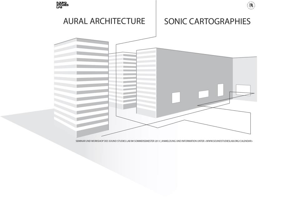 Aural Architecture & Sonic Cartographies