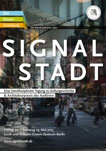 Signalstadt - Poster
