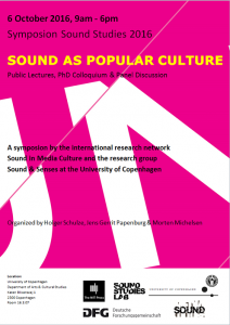 Poster Sound_as_popular_culture